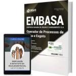 EMBASA - BA 2017 ; Operador de Processos de Água e de Esgoto